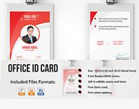 Professional Employee ID Card