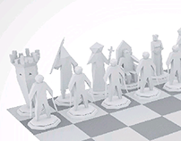 Polygonal Chess Board