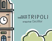 Tripoli Snapchat Geofilter
