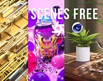 Octane Render - CD4 Free scenes Vol. 2 Oscar creativo
