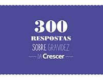 Aplicativo 300 Respostas Sobre Gravidez da Crescer