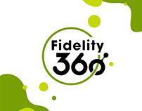 Fidelity 360°visual identity & logotype