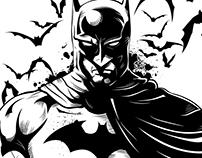 The Dark Knight Illustration