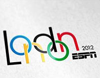 ESPN London 2012 Olympics Game logo proposal