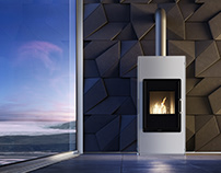 Fireplace from Buderus