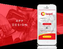 Terpel App Design