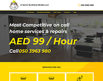 Complete Website with Logo