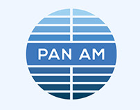 Pan Am - Logo Rebrand