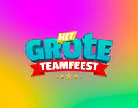 Logo & artwork 'Het Grote Teamfeest'
