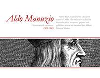 Aldo Manuzio Poster Contest