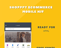 Shoppy Ecommrce UI Web