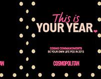 Cosmo Commandments 2015 Notebook
