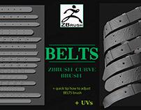 Belts brush