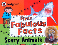 SCARY ANIMALS Ladybird First Fabulous Facts