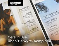 Cera in Use (Über/Haiwyre/Kempinski)