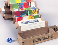 Snakes & Ladders | Travel Box