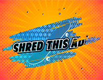 SHRED THIS AD: Skate, Scratch, Win