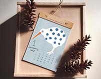 animal 2018 calendar