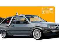 Lada Back to the Future