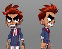 Iron Paladin Characters