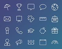 Icon Library, Rocketrip, 2016-2017