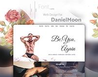 DanielMoon Web design Project