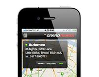 Grand Tourer iPhone app