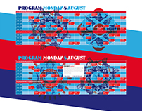 Interactive timetable Summer Dance Forever Festival