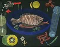 Paul Klee, Around the #Fish, 1926