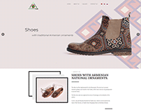 Landing Page - Shoes