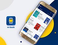 M-Book Mobile App UI