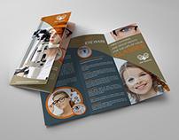 Optometrist & Optician Tri-Fold Brochure Vol.2