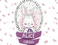 Alice chegou
