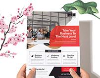 Dev Corporate Business Flyer solution V01