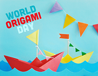 KINDER SORPRESA - World Origami Day