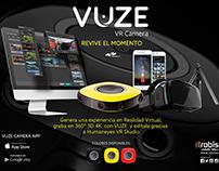 Publicidad VUZE CAMERA