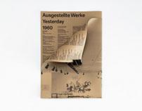 Klingspor Museum 'Yesterday', Exhibit Index Poster