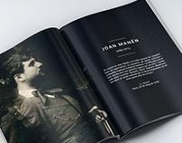 Maquetación Catálogo Associació Joan Manén