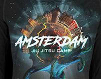 Amsterdam Jiu Jitsu Camp Rashguard