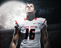 2016 North Central College Football Halloween