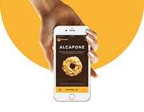 Mobile App Concept for J.CO Donuts Delivery.