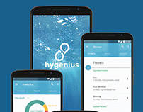 Hygenius - UX design