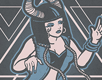 Hathor Illustration
