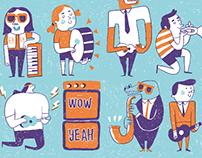 Anorak Happy Paper Band