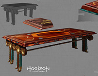 Propdesign for Horizon Zero Dawn & Killzone Shadowfall