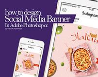 Social Media Banner Tutorial In Adobe Photoshop