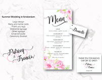 Wedding Stationary Design