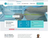 M. Kiliclar Health Medical Clinic Wordpress Web Design