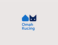 Omah Kucing Shelter Branding