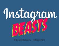 Inktober Beasts 2015